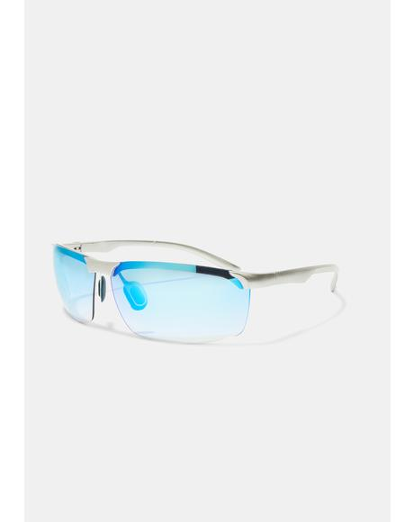 Marine Action Star Frameless Sunglasses