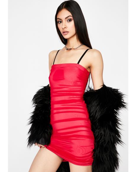 I'm Good Luv Ruched Dress