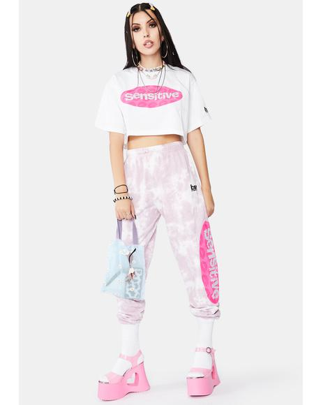 Sensitive Tie Dye Sweats