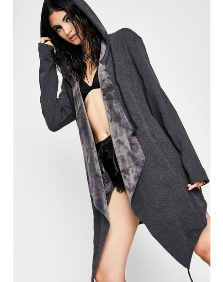 Dark Daze Hooded Poncho