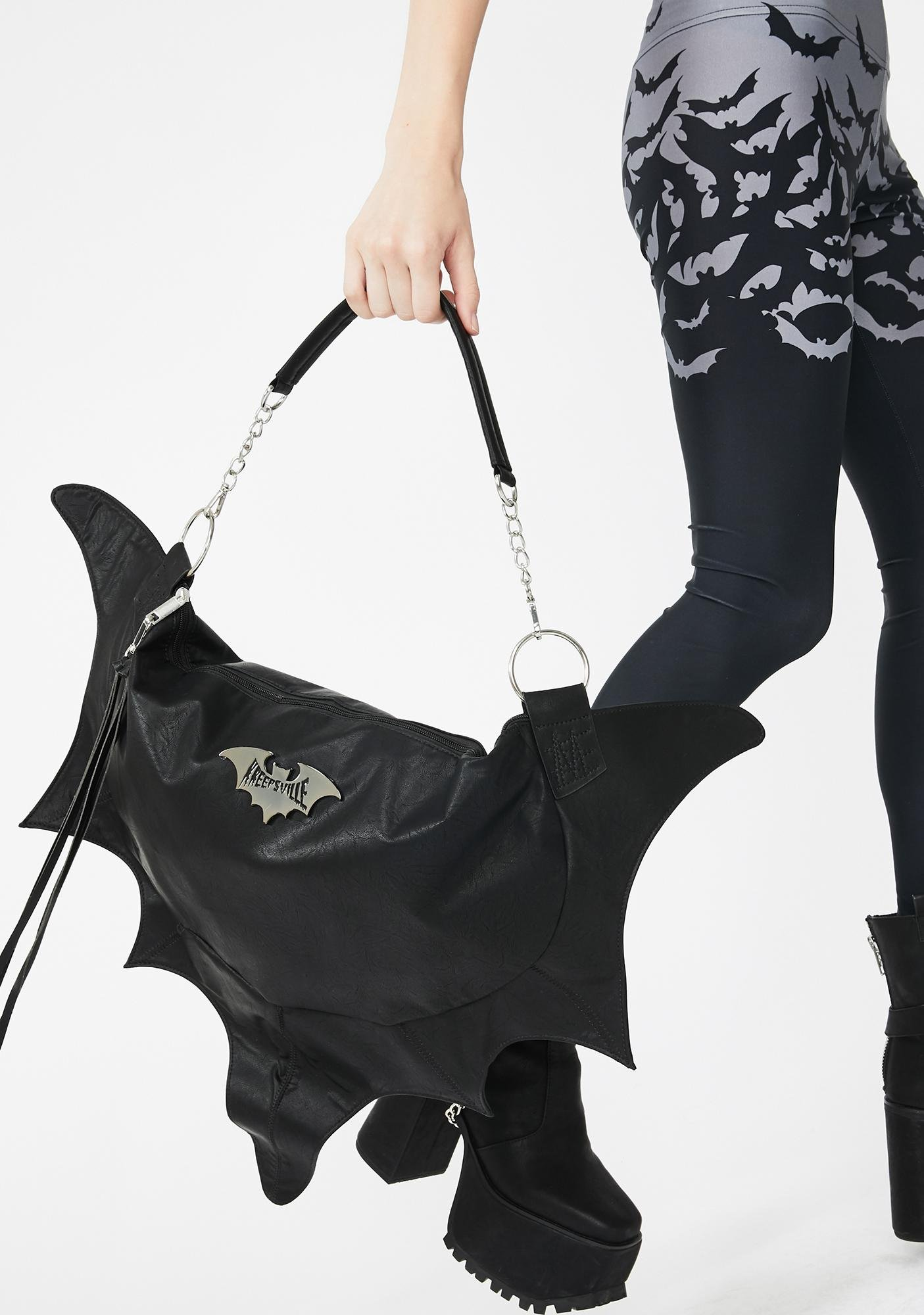 Kreepsville 666 Bat Wing Shoulder Bag