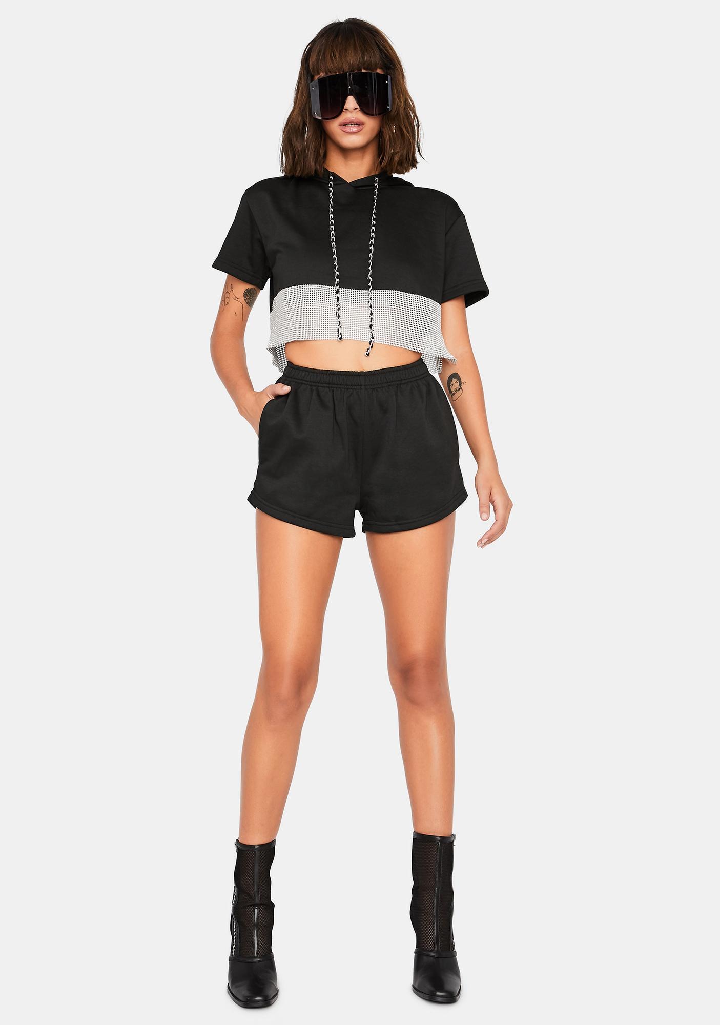 Bold Bling Shorts Set