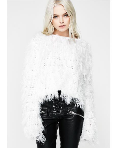Champagne Powder Sweater