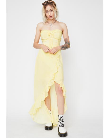 Walkin' On Sunshine Midi Dress