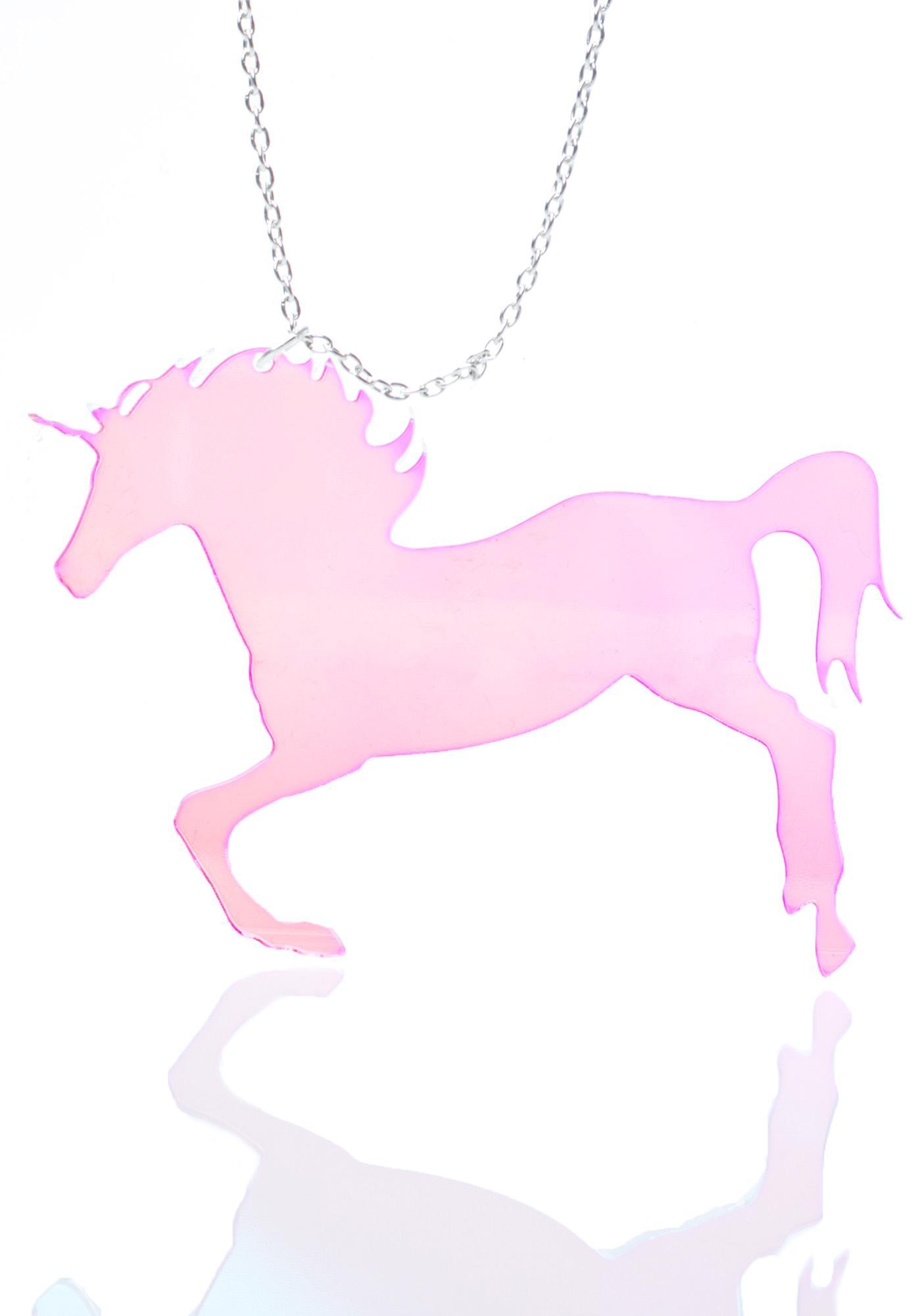 Unicorn Party Necklace