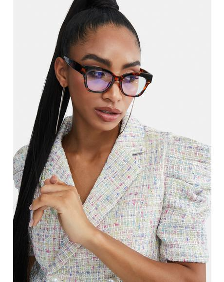Fleetwood Tortoiseshell Blue Light Glasses