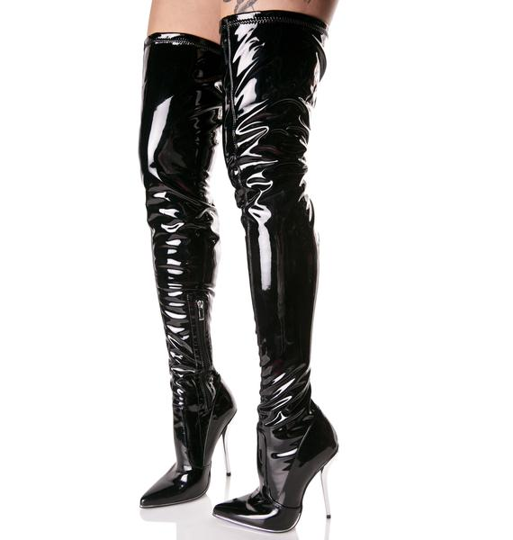 Manic Thigh-High Boots