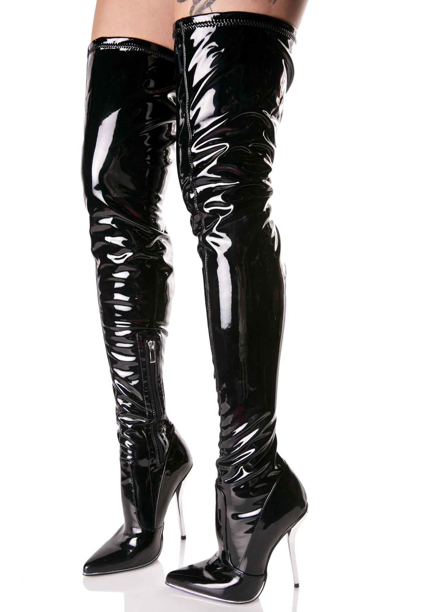 Manic Thigh-High Boots