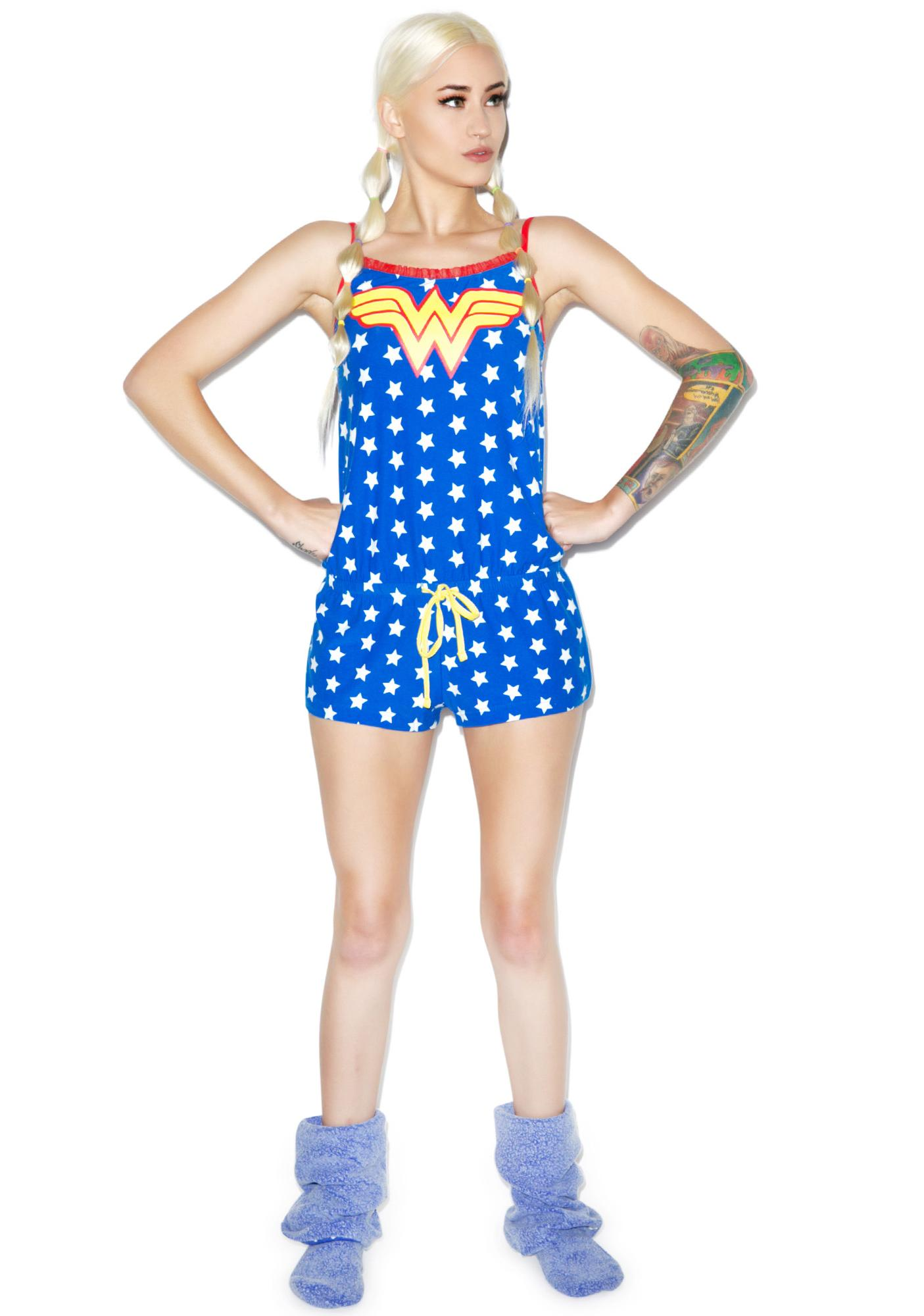 Undergirl Wonder Woman Romper