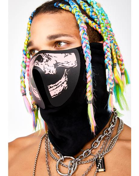 Beamin' Demon Sound Reactive Dust Mask