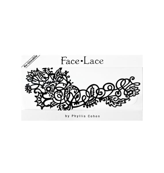 Face Lace Mehndoodle 1 Face Lace