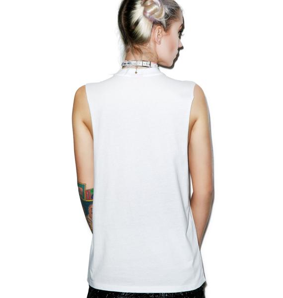 Married to the Mob Snoopy Relax Muscle Tee