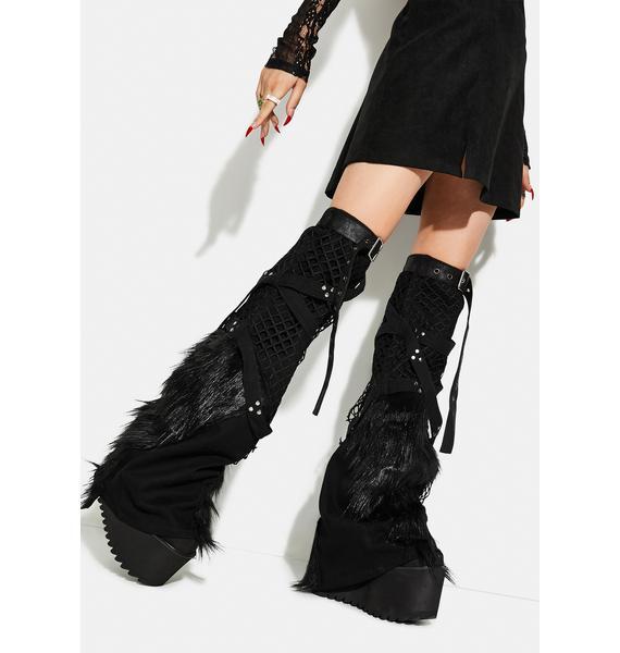 Punk Rave Punk Handsome Leg Warmers