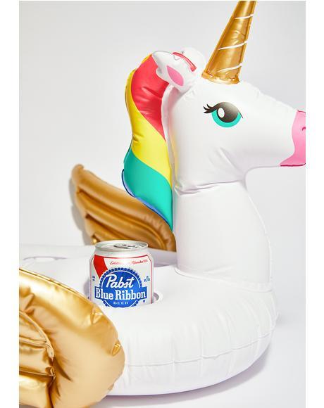 Floatin' On Magic Unicorn Drink Holder
