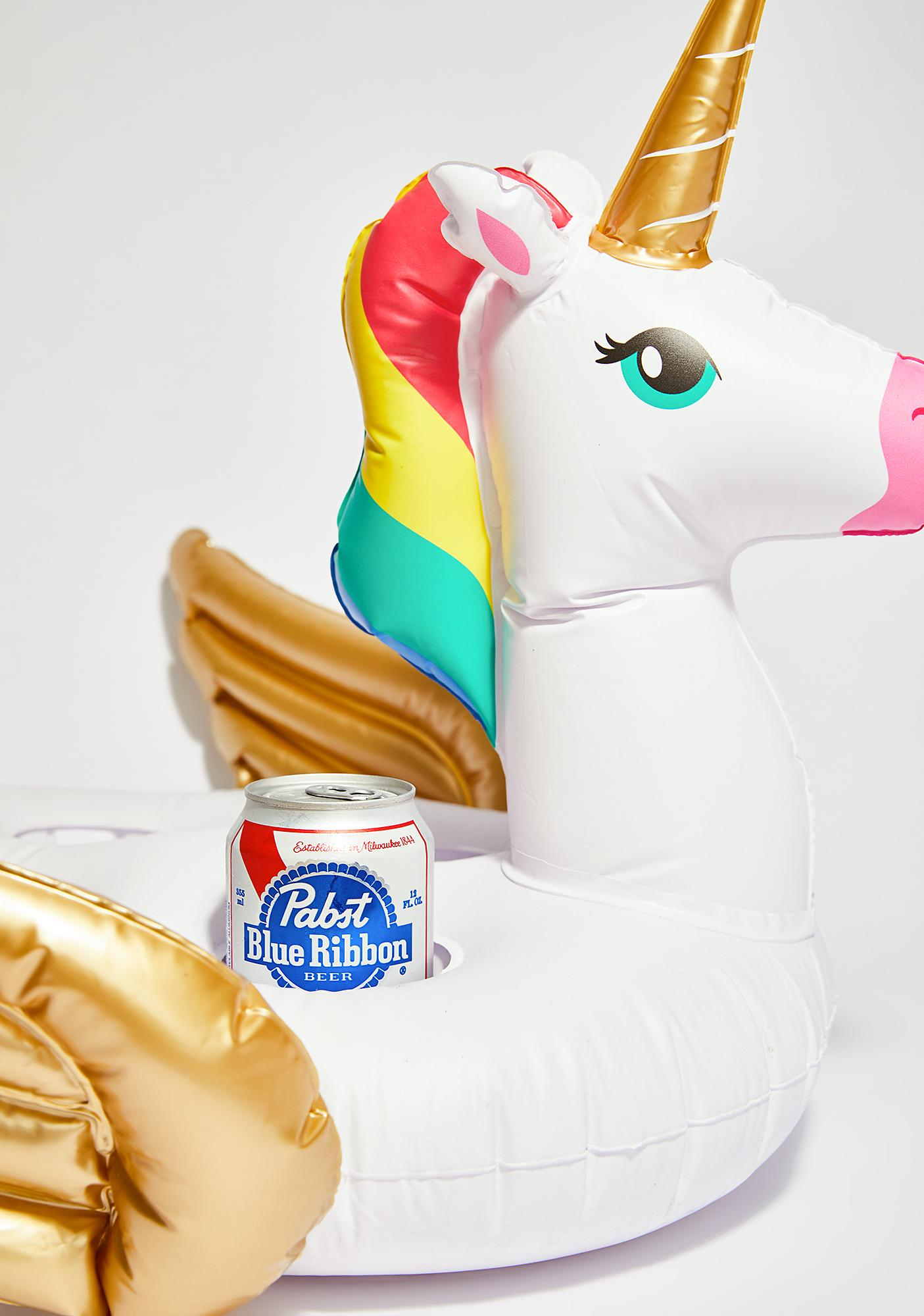 Floatin' On Magic Unicorn Drink Holder