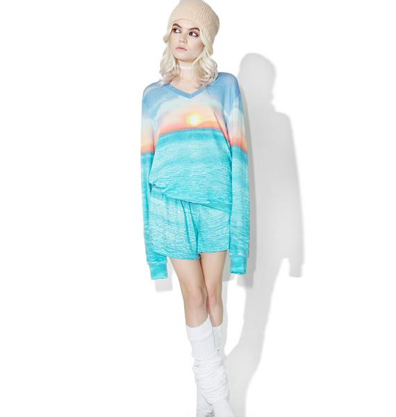 Wildfox Couture Sunset Cruise Baggy Beach V