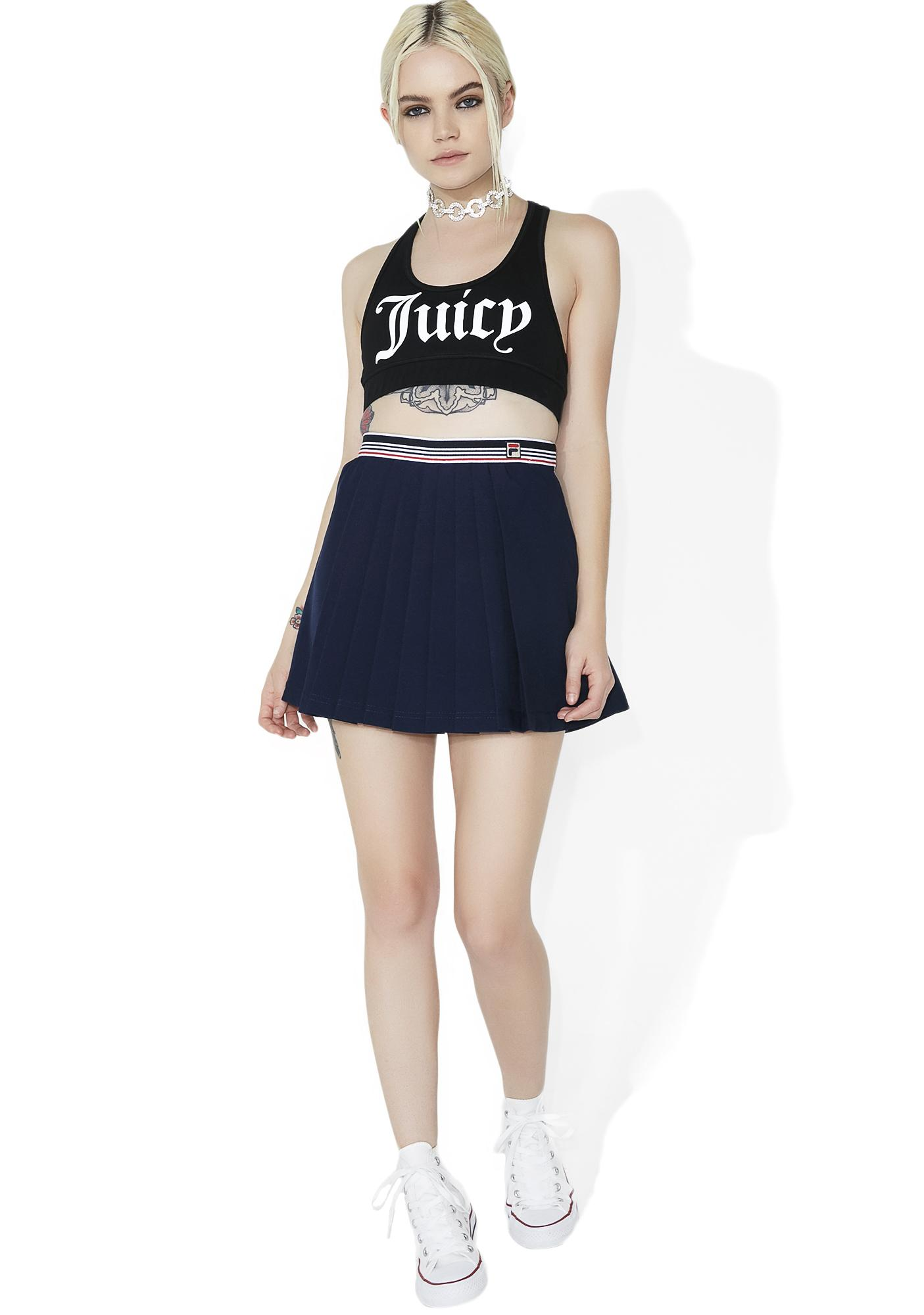 JUICY COUTURE Graphic Racerback Sport Top