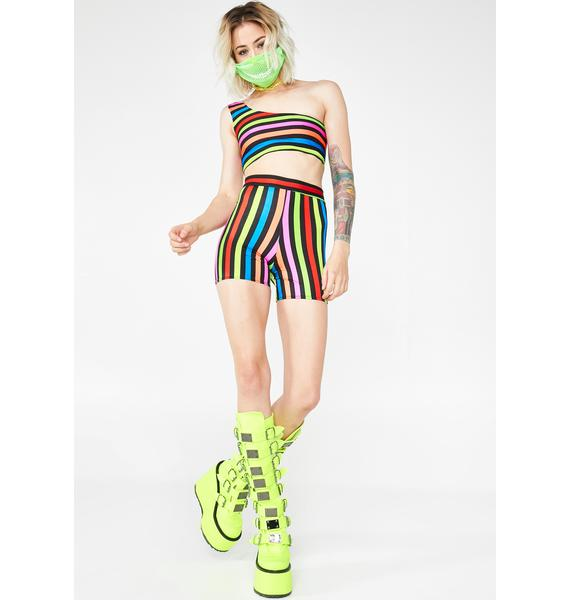 $A$$YPANT$ Circus Tarts Cycling Shorts Set