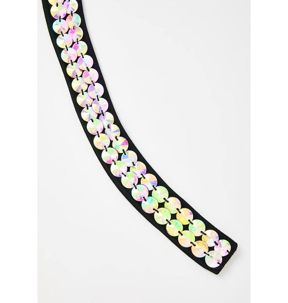 HEYAMI Aura Jeweled Choker
