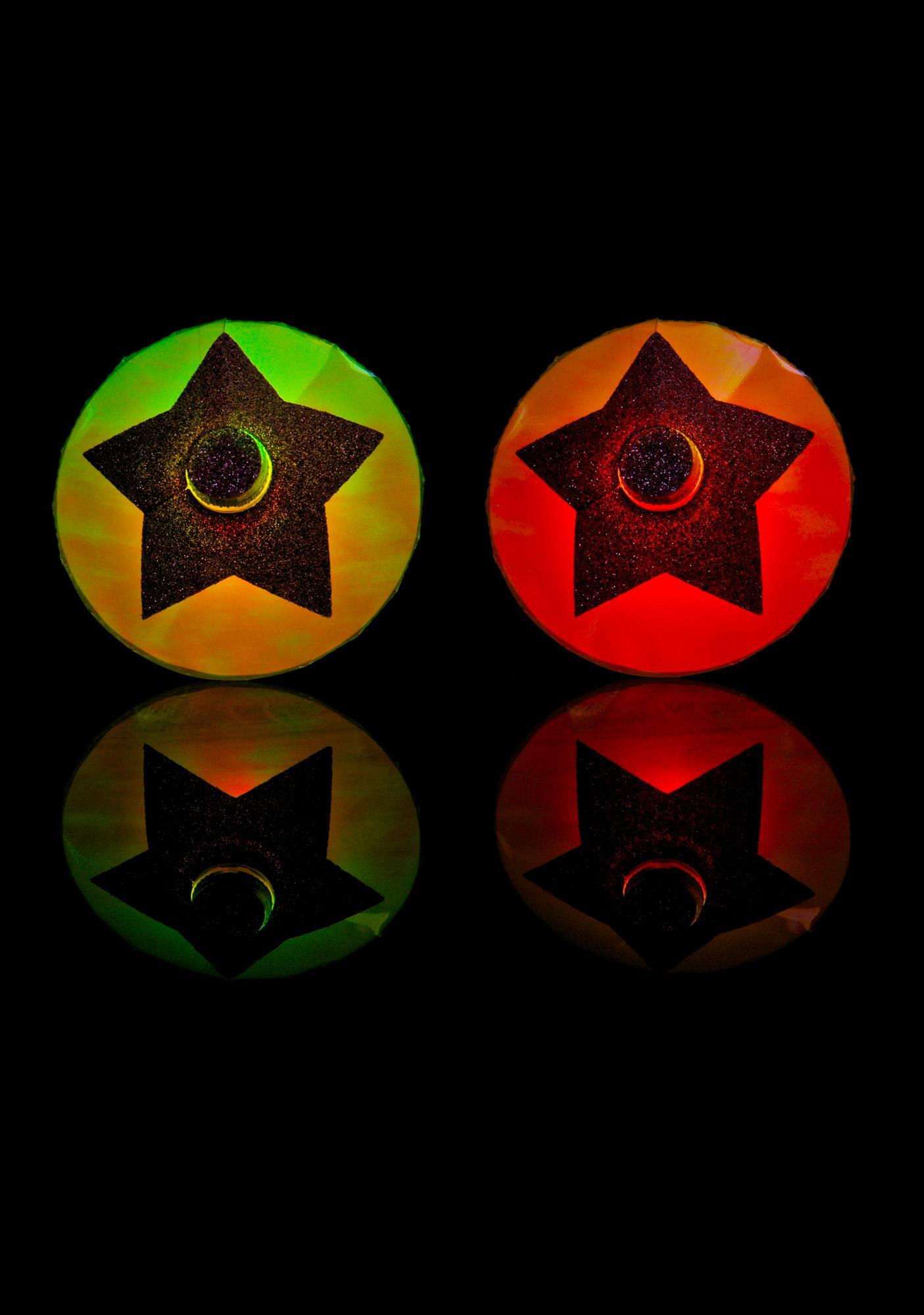 Sasswear Star LED Pasties
