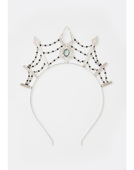Queen Arachne Tiara Headband
