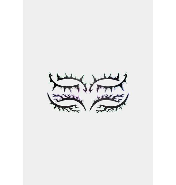 Face Lace Moonlightning Eye Lace