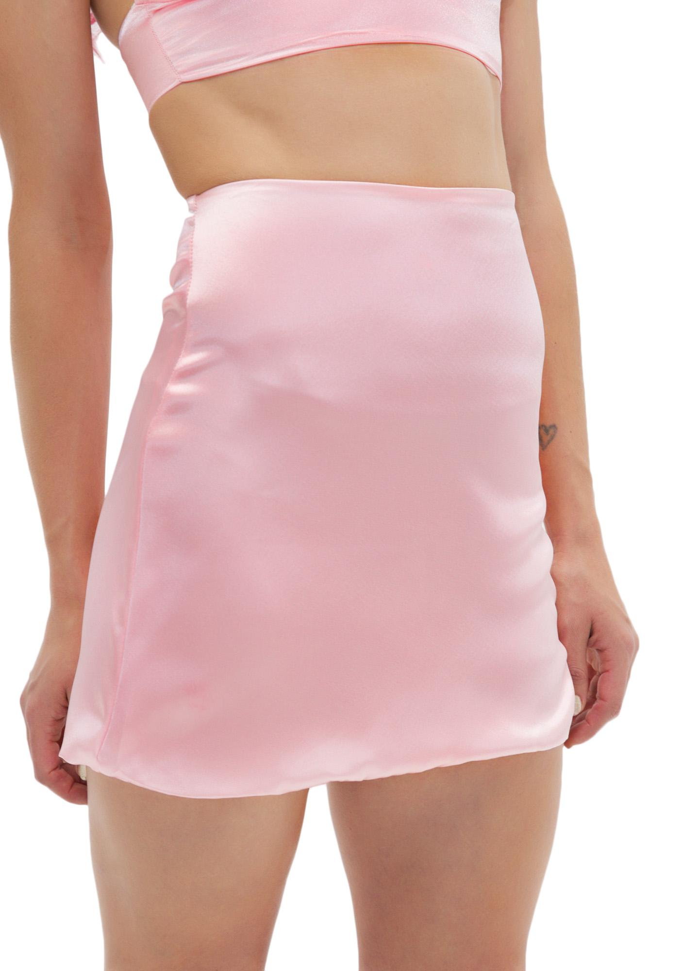 O Mighty Princess Silk Kitten Skirt