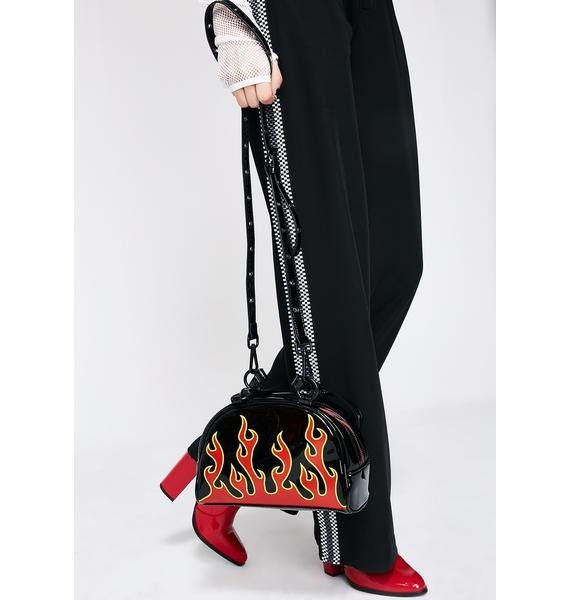 Current Mood Flame Catcher Bowler Bag