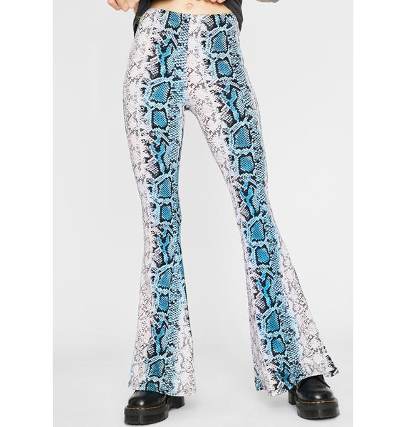 Don't Be A Snake Flare Pants