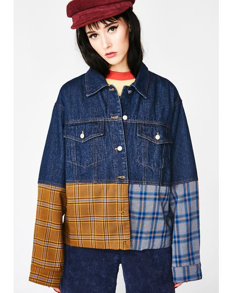 Grunge Queen Denim Jacket