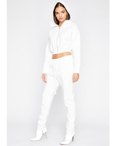 Icy Naturally Bad Jogger Set