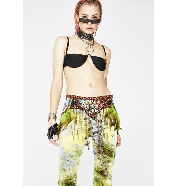 Gypsy Mystic Feather Belt