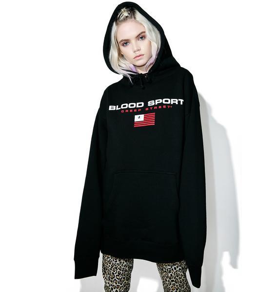 Creep Street Diablo Blood Sport Pullover Hoodie