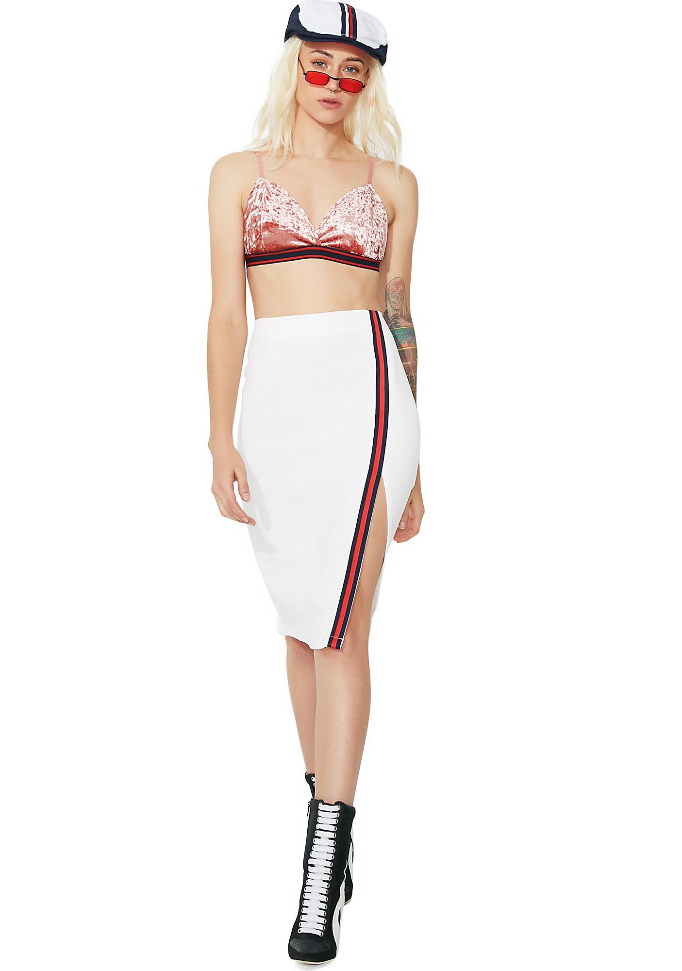 Glamorous Strike A Pose Midi Skirt