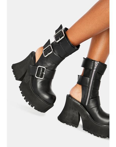 Stomp Platform Boots
