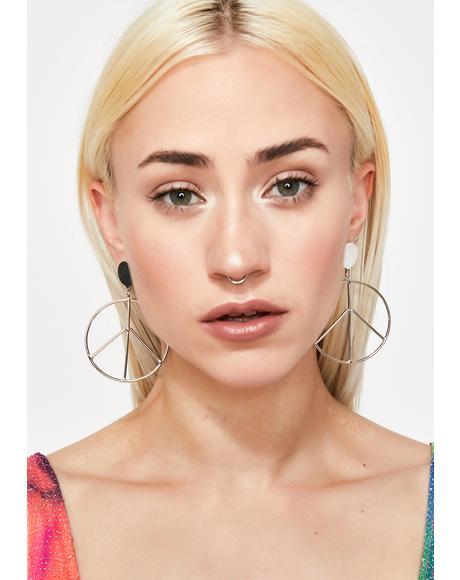 Brings Me Peace Earrings