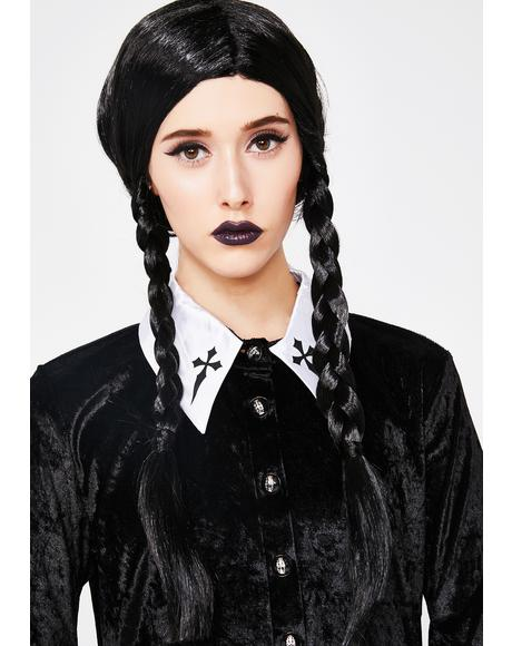 Evil Child Braided Wig