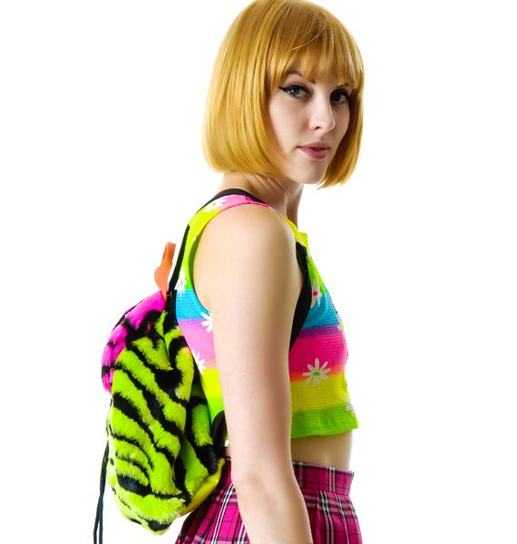 Dimepiece Fur Real Mini Backpack