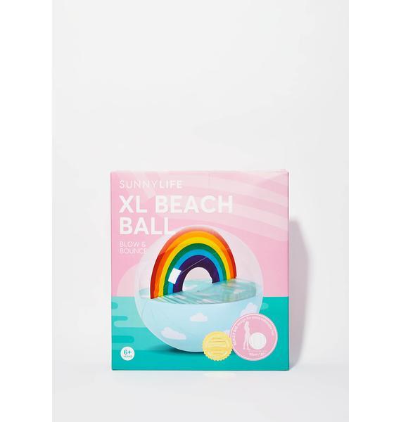 Sky Fall XL Beach Ball