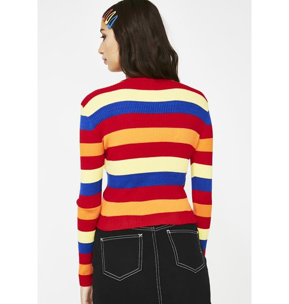 Play Dates Stripe Sweater