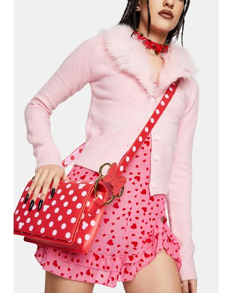 Disney Minnie Mouse Polka Dot Crossbody