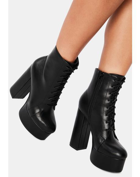 Killer Femme Flair Platform Boots