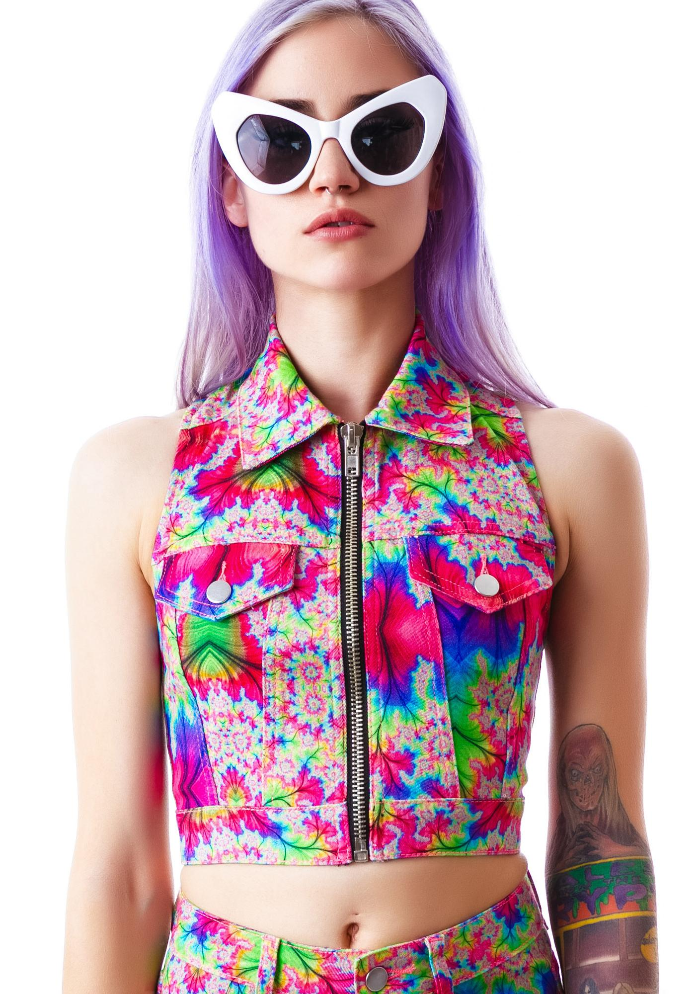 24HRS Kaleidoscope Stretch Twill Vest