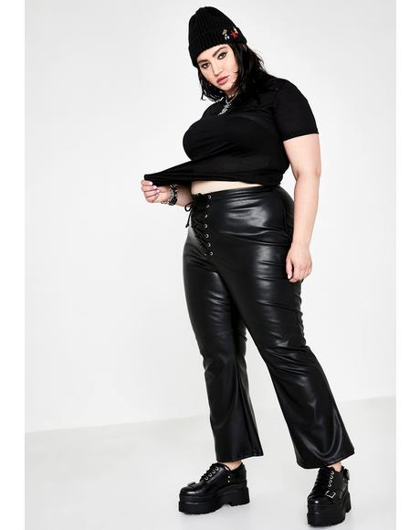 Miss Immortal Menace Flare Pants