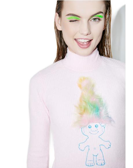 Embroidered Troll Dress