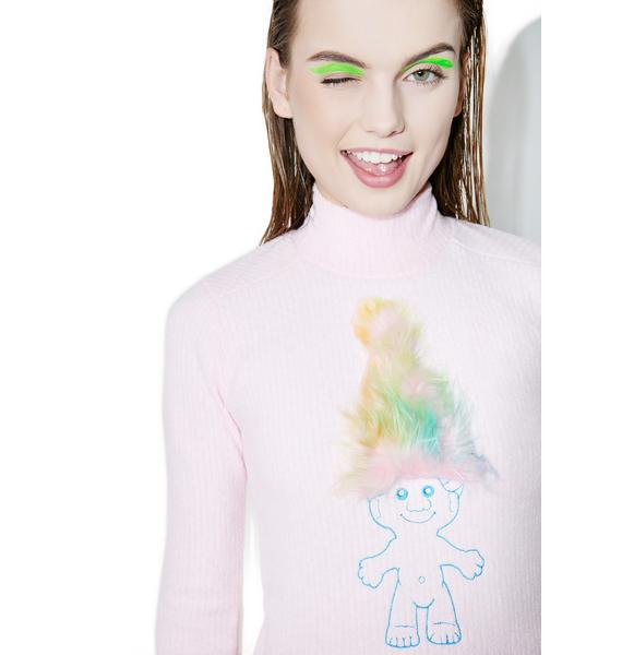 ESQAPE Embroidered Troll Dress