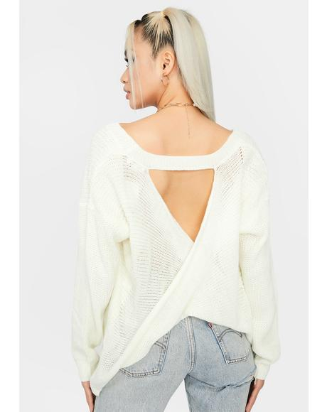 It's Bliss Oversized Knit Sweater