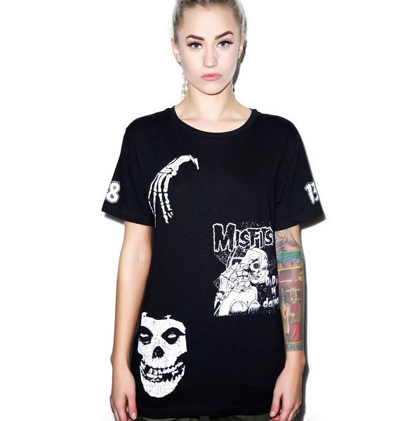 Iron Fist Misfits Megaprint Tee
