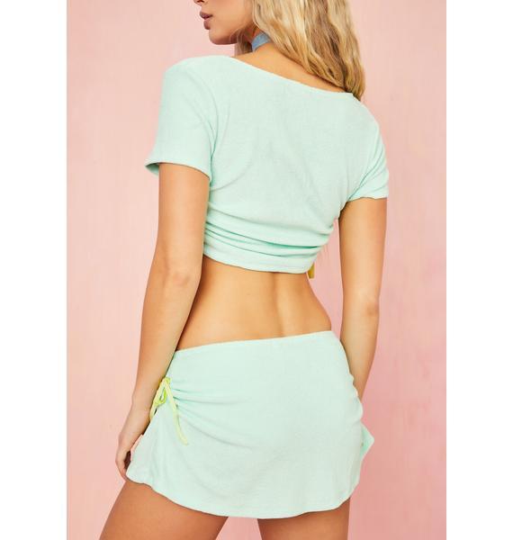 Sugar Thrillz Cabana Cutie Mini Skirt