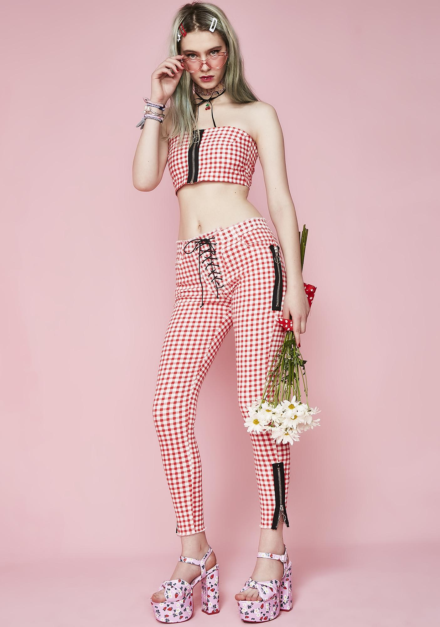 "Not Ur Sweetheart Lace Up Pants<Button Class=""Price It Clicked Process Validation Passed"" Id=""Pricebtn"" Style=""Display: None;""></Button> by Sugar Thrillz"